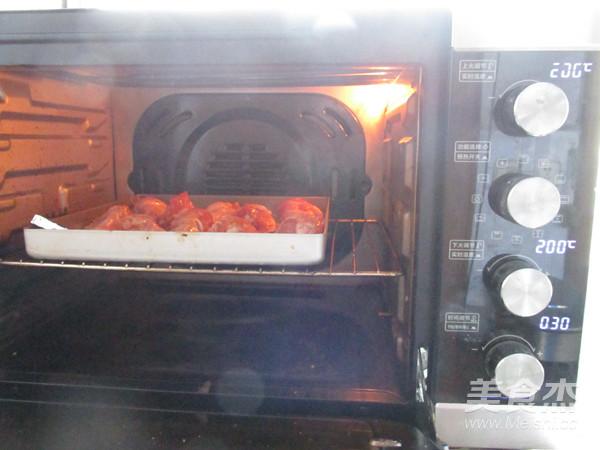 蜜汁烤鸡翅根怎么做