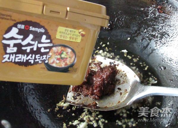 大酱汤汆丸子怎么煮