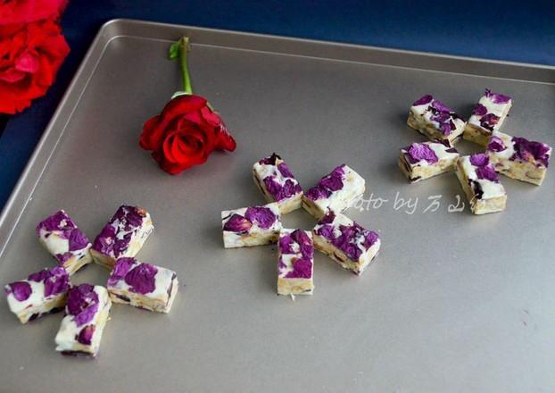 玫瑰花牛轧糖怎样煮