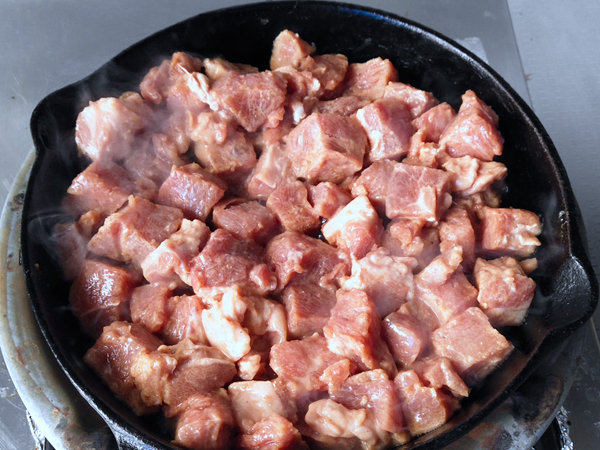 牛排菇牛肉拌饭怎么煮