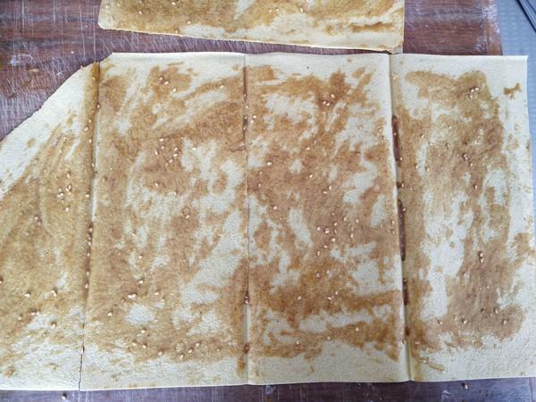 肉松坚果酥煎饼怎么做