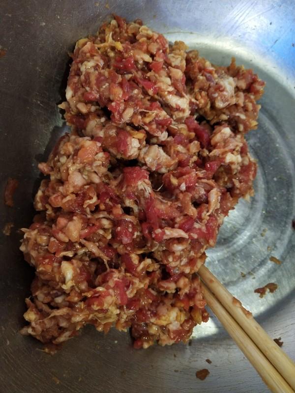 双笋牛肉饺子的做法图解