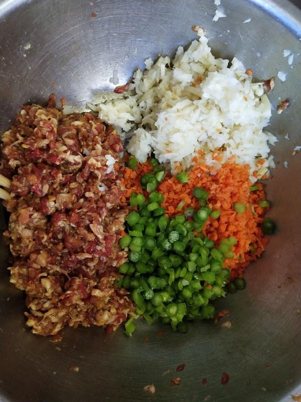 双笋牛肉饺子的家常做法