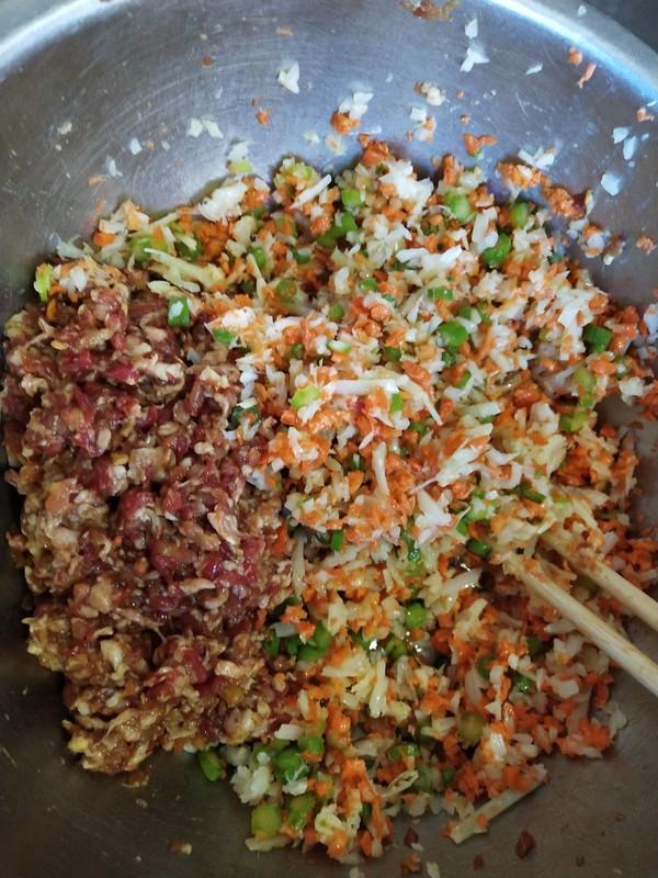 双笋牛肉饺子的简单做法