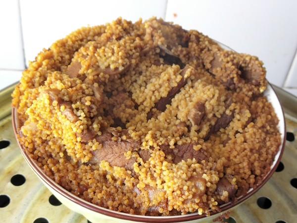 香糯小米扣肉怎样炒