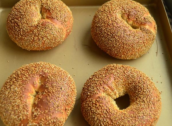 汤种藜麦面包圈的制作大全