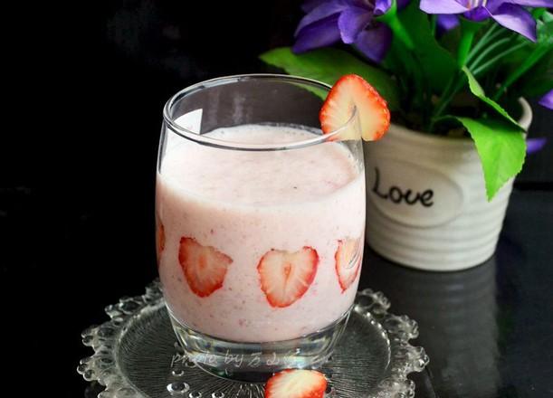 草莓奶昔怎么做