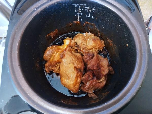 电饭煲版叉烧肉的步骤