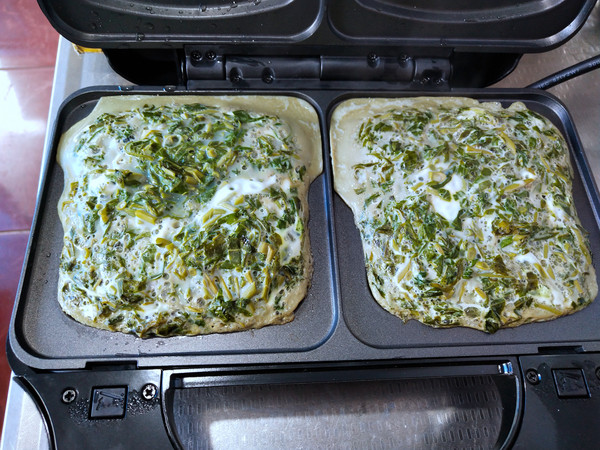 香椿鸡蛋馅饼的步骤