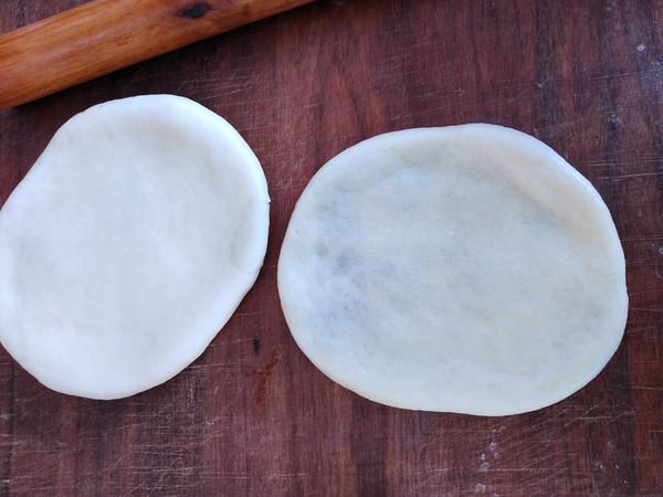 豆沙油酥烧饼的步骤