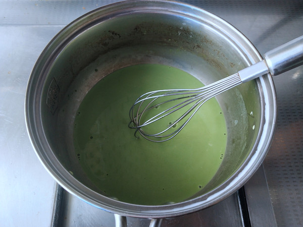 蜜豆香兰椰糕怎么煮