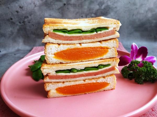 双味三明治成品图