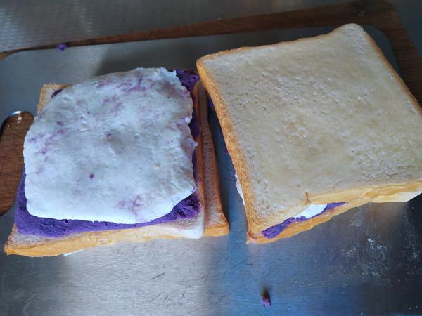 紫薯山药三明治的步骤