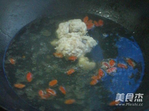 清汤炖羊脑的步骤