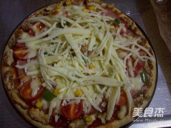 火腿核桃仁披萨怎样煮