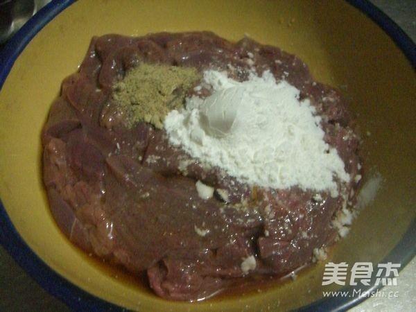 洋葱炒猪肝的简单做法