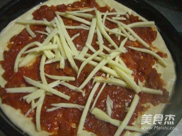 鸡肉玉米披萨怎样煸