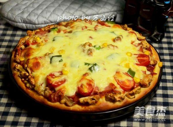 火腿核桃仁披萨怎样炖