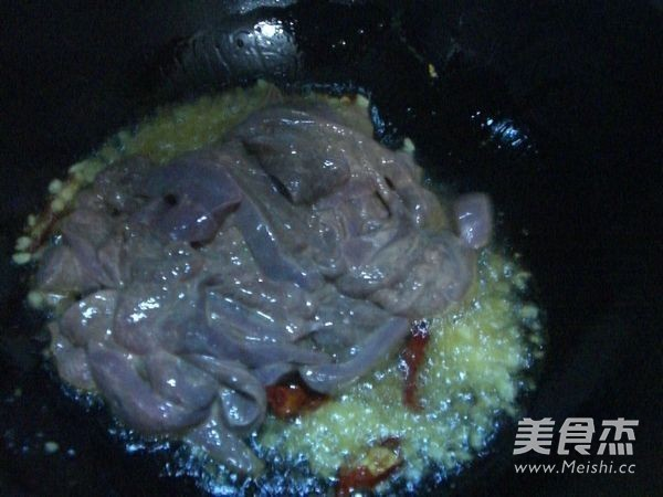 洋葱炒猪肝怎么做