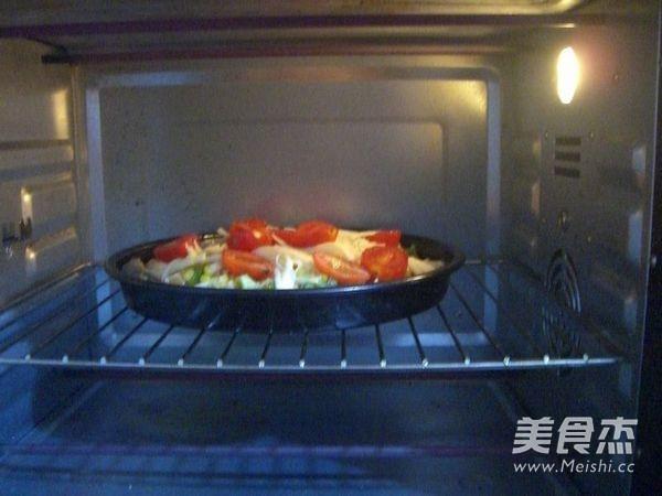 鸡肉玉米披萨的制作方法