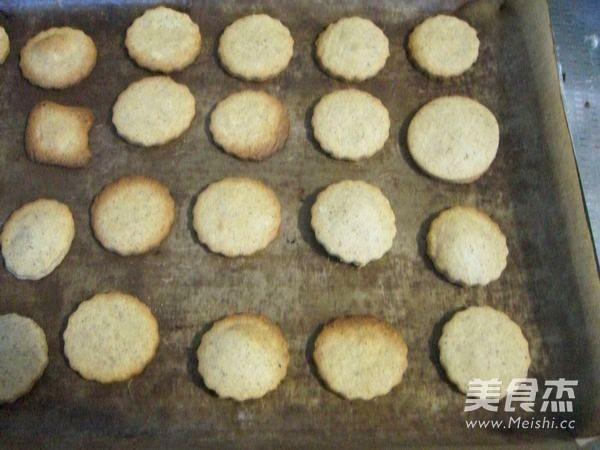猴头菇酥性饼干的步骤