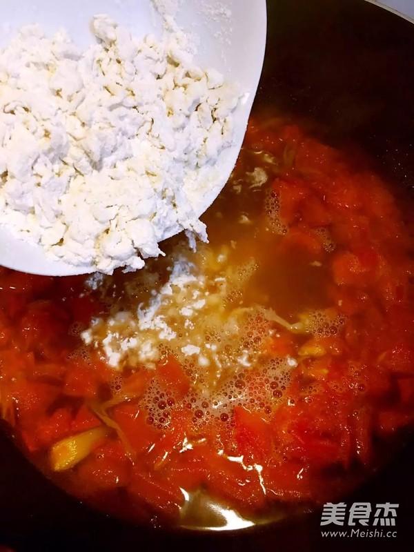 西红柿疙瘩鸡蛋汤怎么炒