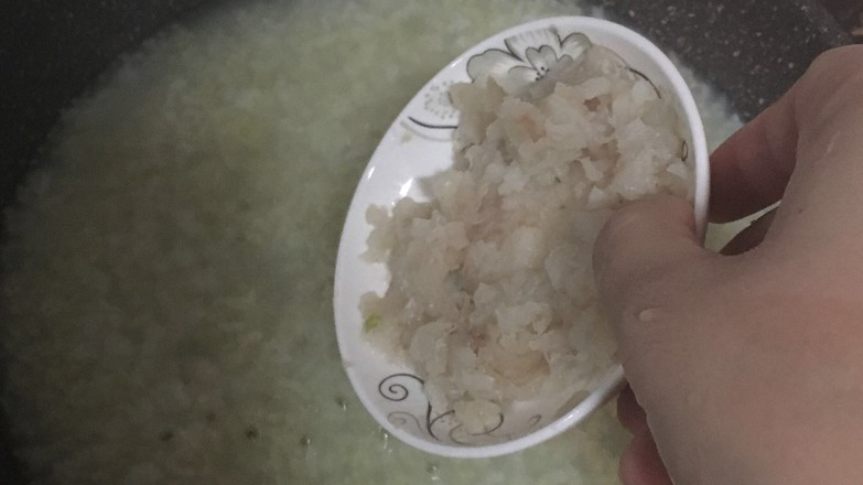 翡翠鳕鱼粥 宝宝辅食食谱怎么煮