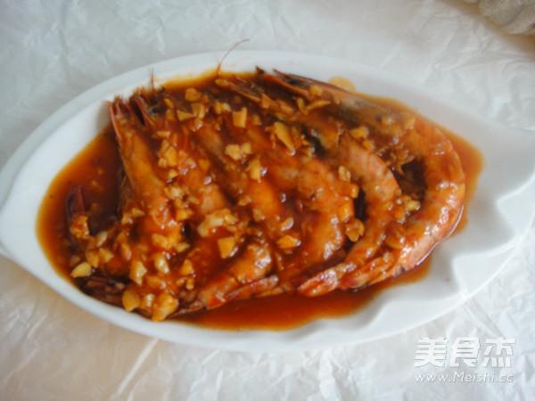 茄汁斑节虾怎么炖