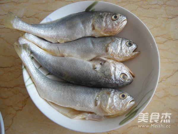 苔菜拖黄鱼的做法图解
