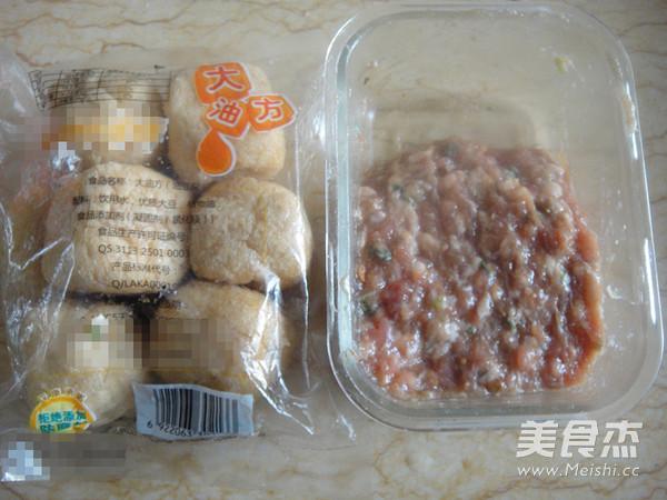 鲍汁油豆腐塞肉的做法大全