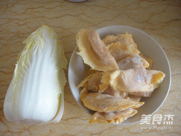 蛋饺烧娃娃菜的做法大全