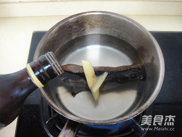 竹笋腊肉炒酱干的家常做法