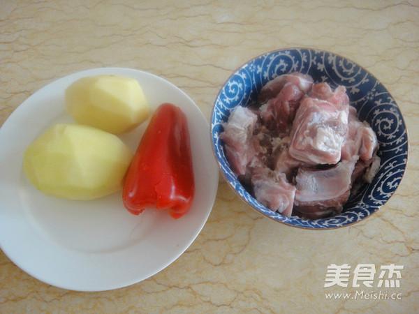 豉香土豆小排骨的做法图解