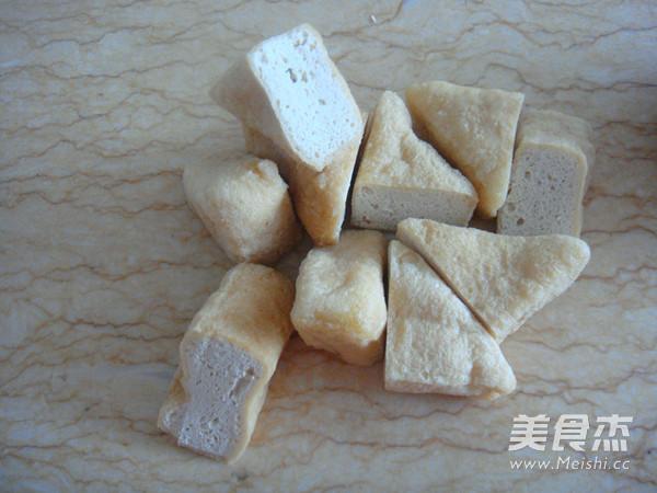 浇汁油豆腐塞肉的做法图解