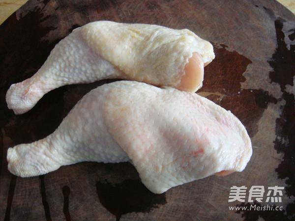 白萝卜烧鸡块的做法图解