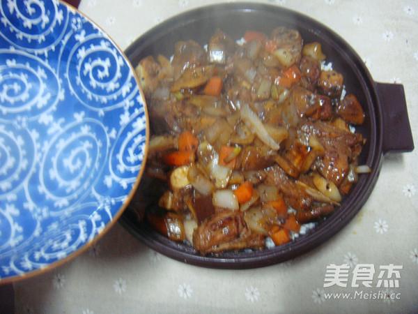 排骨糯米焖饭怎样做