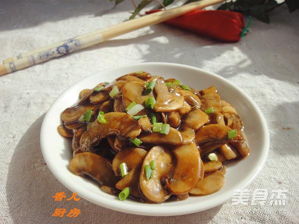 蚝油干煸蘑菇怎么煸
