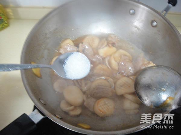 蚝油杏鲍菇炒肉片怎样煸