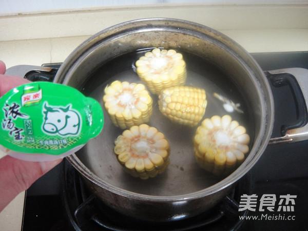 玉米牛肉汤的家常做法
