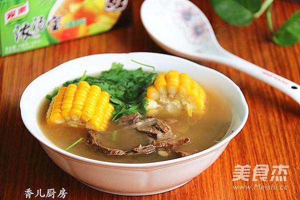 玉米牛肉汤怎么做