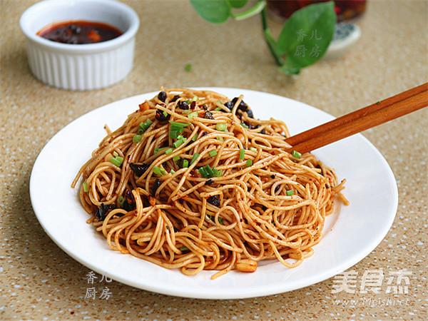 贵州豆豉辣酱风味酱拌面怎么煮