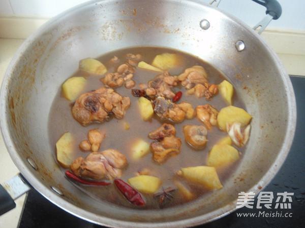 新疆大盘鸡怎样煮