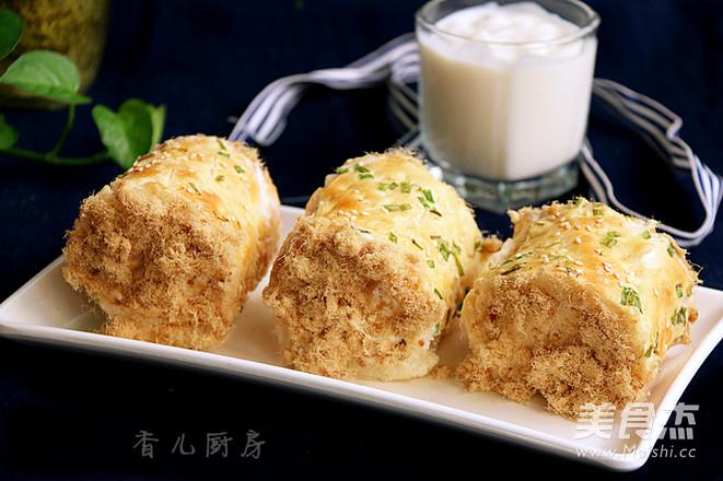肉松面包卷怎样煮