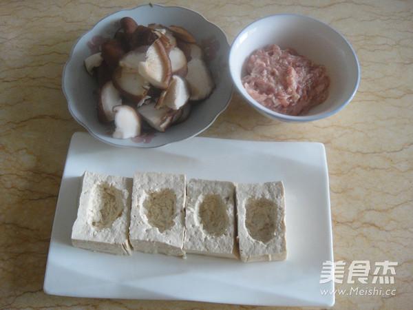 香菇豆腐镶肉的做法图解