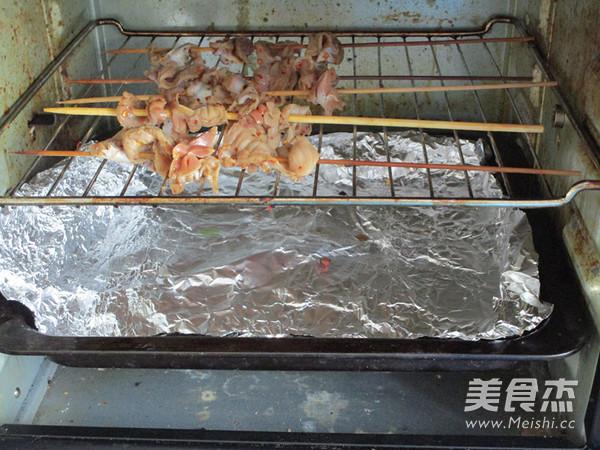 辣烤鸡胗怎么做