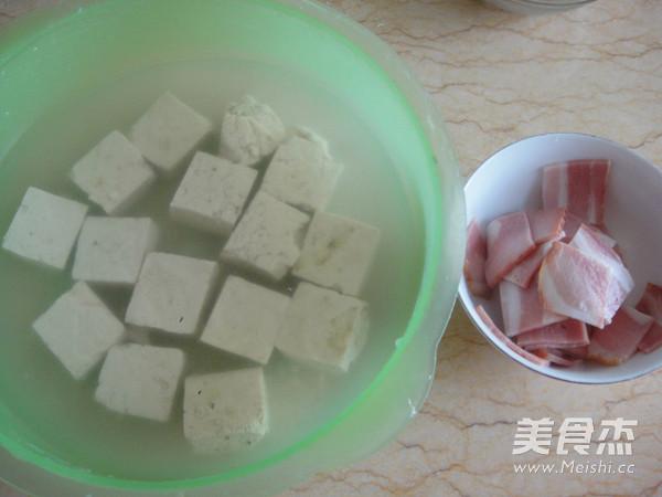 臭豆腐培根蒸蛋的家常做法
