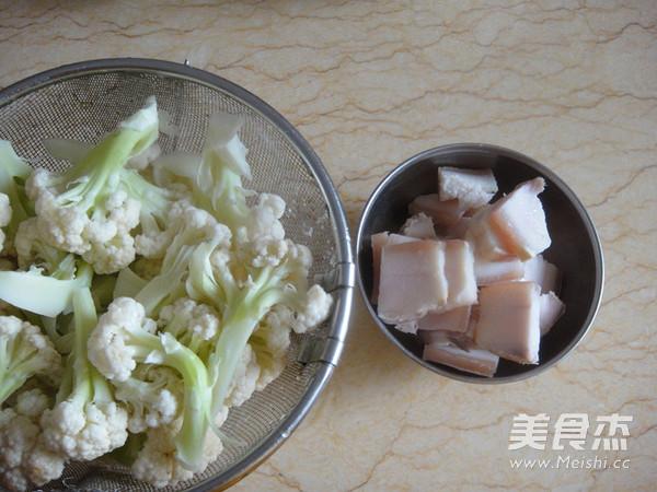 干煸菜花五花肉的家常做法