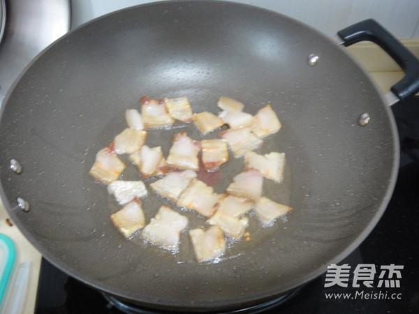 干煸菜花五花肉怎么吃