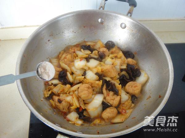 白菜黑木耳怎么煮