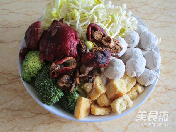 浓汤菌菇火锅的做法图解